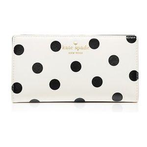 Kate Spade Cedar Street Leather Wallet